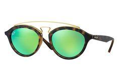 Quem aqui gosta ?   Óculos Ray-Ban Gatsby Oval 0RB4257 60923R 50-19  COMPRE AQUI!  http://imaginariodamulher.com.br/look/?go=2e3mTns