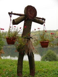New take on a scarecrow