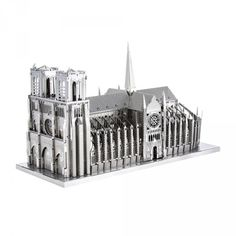 Metal Earth ICONX 3D Laser Cut Metal Model Kits Buildings