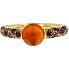 Jona Carnelian Sapphire Gold Ring ($1,429) ❤ liked on Polyvore featuring jewelry, rings, blue, sapphire ring, blue gold ring, blue sapphire ring, blue sapphire jewelry and yellow gold sapphire ring