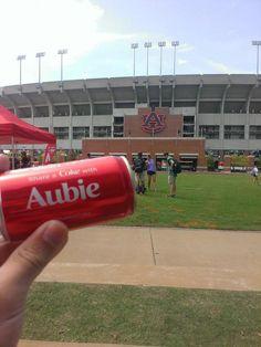 Share a coke with Aubie!