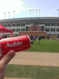 Share a coke with Aubie!