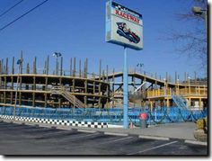 ADVENTURE RACEWAY PIGEON FORGE TN. We had such a great time here last year. Can't wait to visit this summer. The bumper boats are my favorite!!