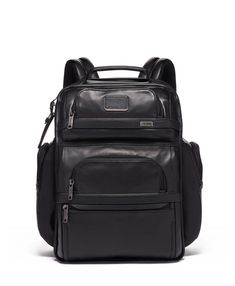 e11c4d11d980 TUMI Alpha 3 Leather Brief Pack Backpack Organization, Luggage Backpack,  Luggage Bags, Leather
