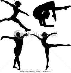 Gymnastics! :D art for wall?
