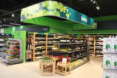 Магазин Перекресток от Retail Branding GmbH в Москве