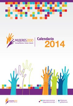 Calendar design for the ONG Mujeres 2000