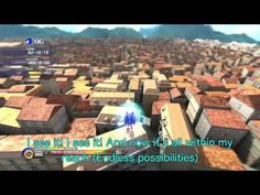 Endless Possibility Full  Sonic Unleashed HD 歌詞