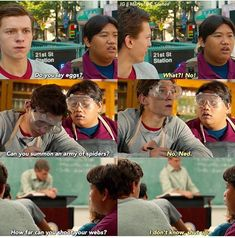 Ned and Peter