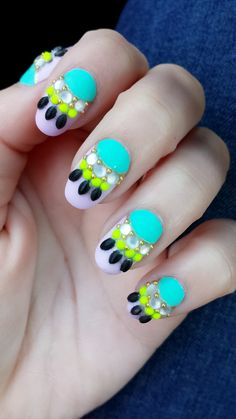 Wild Spring/Summer Nails 2014 ..... These are amazing.... I want... Now!! Lol
