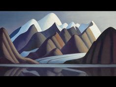 Canadian artists Lawren Harris ~ Mount Thule, Bylot Island, 1930 ~ oil on canvas ~Collection of the Vancouver Art Gallery. Gift of the Vancouver Art Gallery Women's Auxiliary. Photo by Rachel Topham, Vancouver Art Gallery. Group Of Seven Artists, Group Of Seven Paintings, Vancouver Art Gallery, Art Gallery Of Ontario, Tom Thomson, Emily Carr, Canadian Painters, Canadian Artists, Canada Landscape