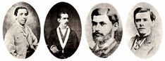 Some Sanmarquinos offered their lives in their attempt to safeguard the honor of our nation. From left to right Ramón Ribeyro and Álvarez, Pedro Octavio Argaluza and Valencia, Carlos Germán Amézaga y Llanos, Numa Jenaro Llona and Marchena. Peru History, Valencia, Music Instruments, Battle Field, Medicine Student, Lineman, Musical Instruments