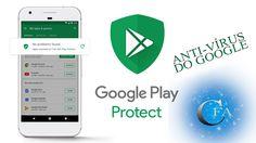 Novidade chegando - Conheça o Google Play Protect o Anti-vírus do Google para Androide. Com ele seu celular vai se livrar dos vírus, Worms e pragas do dia dia.Acesse: https://youtu.be/7cTEq-a5dCk
