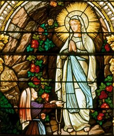 Our Lady of Lourdes_Our Lady of Mount Carmel Catholic Church  February 11th Pray the Rosary every day