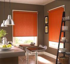 Valencia Simplicity Orange Roller Blind | Rollos | {Roller küchen grau 82}