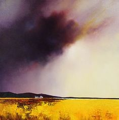 Storm Over Golden Fields IV- please contact the Gallery for other available Originals by Barry