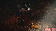Ant-Man (Paul Rudd) makes a new friend in Marvel's 'Ant-Man,' in theaters July 17