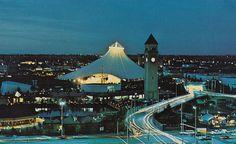 U.S. Pavilion at Expo '74 - Spokane, Washington by The Pie Shops, via Flickr