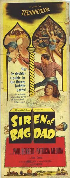 Siren Of Bagdad. 1953