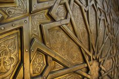 An excel­lent example of the crafts­man­ship of Morocco found in the detail of a door.