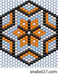 Free beading patterns peyote or brick stitch earrings Bead Crochet Patterns, Beading Patterns Free, Bead Crochet Rope, Beaded Bracelet Patterns, Peyote Patterns, Peyote Beading, Beaded Banners, Brick Stitch Earrings, Bead Earrings
