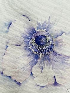 Watercolor Flowers Tutorial, Watercolor Images, Watercolor Artwork, Floral Watercolor, Cuadros Diy, Coral Art, Watercolor Painting Techniques, Abstract Flowers, Watercolours