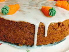 Κέικ καρότου χωρίς γλουτένη!