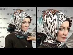 Hijab Fashion: Armine Eşarp Bağlama Modelleri # 3 - YouTube