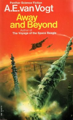 CHRIS FOSS - art for Away and Beyond by A.E. van Vogt - 1973 Panther Books