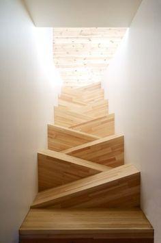 Seems like a broken leg waiting to happen.  Taken from: architectureblog.tumblr
