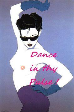Patrick Nagel Dance Sensual 80s