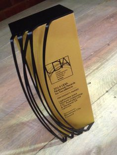 UDIA Awards - Custom trophy design #modern