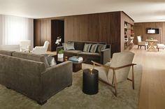 The London Edition Hotel UK Penthouse suite living room Penthouse Suite, New York Edition Hotel, Uk Retail, Estilo Art Deco, Private Dining Room, London Hotels, Design Furniture, Pent House, Folk Victorian
