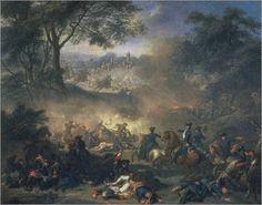 1717 Battle of Poltava - Jean-Marc Nattier