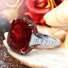 Luxurious 925 Silver Natural Gemstones Ruby Wedding Birthstone Bride Engagement Multilevel Set Lover Circular Ring Jewelry Size Source by. Red Jewelry, Luxury Jewelry, Diamond Jewelry, Jewelry Rings, Vintage Jewelry, Jewelry Accessories, Fine Jewelry, Fashion Jewelry, Jewelry Design