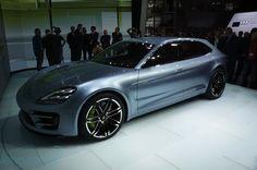 Porsche Panamera sport turismo concept - Engadget Galleries