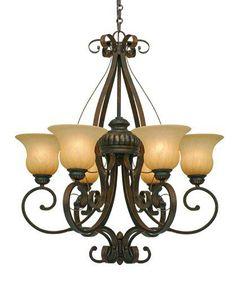 Golden Lighting Mayfair 6 Light Chandelier Gl 7116 Lc