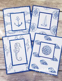 Stampin' Up! Sailing Home Card Set Birthday Cards For Boys, Masculine Birthday Cards, Masculine Cards, Boy Cards, Kids Cards, Acetate Cards, Nautical Cards, Stampin Up, Fun Fold Cards