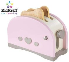 With KidKraft's Prairie Toaster, kids can cook up some real fun without any help from mom or dad. It also matches other KidKraft Prairie toys. This precious set makes a great gift for any little chef.
