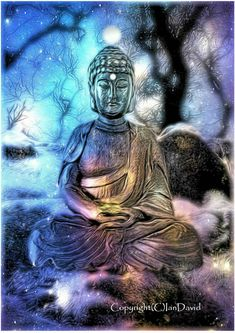 "Buddha photography Buddha art Buddha in pastel by IanDavidArt.. ""Sanctuary"". Calming, peaceful, tranquil. A sanctuary within a sanctuary....."