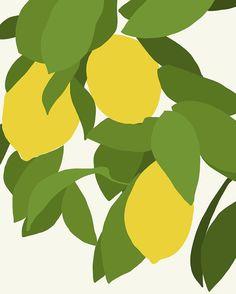 Fine Art Print Meyer Lemons April 11 2013 by joreyhurley on Etsy, $80.00