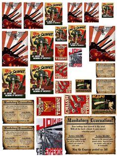Affiches Warhammer .SF