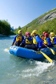 Rafting Jostedals River, Norway!