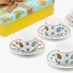 6 Chávenas de Café PT POP | referência 130671617 | A Loja do Gato Preto | #alojadogatopreto | #shoponline