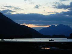 Loch Leven from Glencoe Village, Scotland