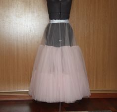 How to sew a tulle from a tulle