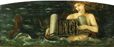 Mermaid by Burne-Jones