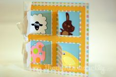 Easter Egg Hunt Card made using MTC and Lettering Delights Sweet Nothings Cards, Easter Beasties, and Peep SVG sets. @Paper Crafter