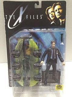(TAS010731) - 1998 The X Files Action Figure - Agent Fox Mulder