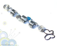 Dreadlock Accessory with silver color Wire and by FoamBubbles, $5.50